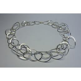 chain necklace female necklet beads bead fashion item fashionable Yolanda Dopp Döpp handmade dutch design jewelry adornment