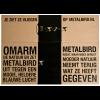 The metal bird Woodpecker Metalbird is packaged environmentally-friendly
