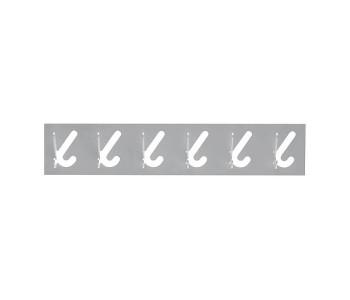 Gispen 1x6 Kleiderständer mit 6 Haken in der Farbe Grau