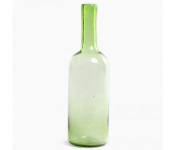Cantel Karaffe Vase 35 cm in der Farbe Grün Glas