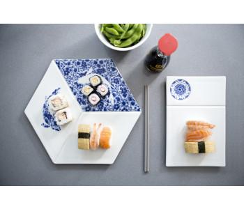 Blue D1653 Versatile Serve und Dip von Royal Delft Delfter Blau Porzellan