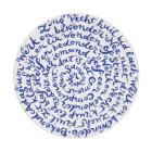 Diskus Teller in Delfter Blau Porzellan