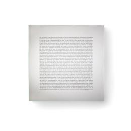 Design Spiegel mit Text Goods Mirror, Mirror
