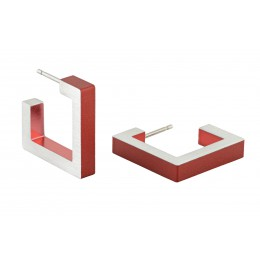 Dutch Design Clic Creations Ohrringe, Ohrschmuck Aluminium, Fashion und Accessoires Click Creations Ohrstecker