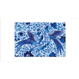 Placemats met een Delfts blauw motief van Royal Delft