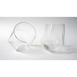 Radiant  Glas aus Kristallglas; Design von Puik Art aus Amsterdam