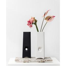 Design-Vase mit Loch Landsheer Keramik
