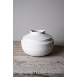 Fenna Oosterhoff, Homeware, Vasen, Vase Weiß, Blau