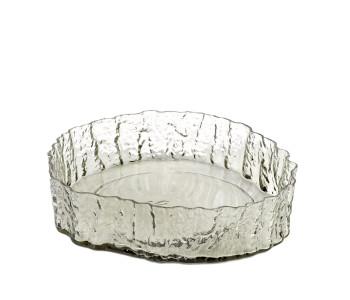 Pols Potten glazen schaal Bark bowl