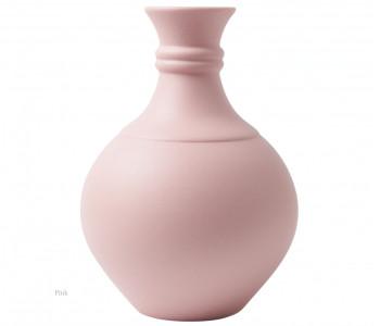 Bolvaasje in roze - 13 cm hoog bestel je bij shop.holland.com