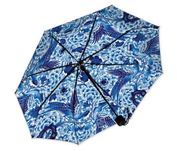 Delfts Blauw Paraplu van Royal Delft - opvouwbaar, 95 cm Ø