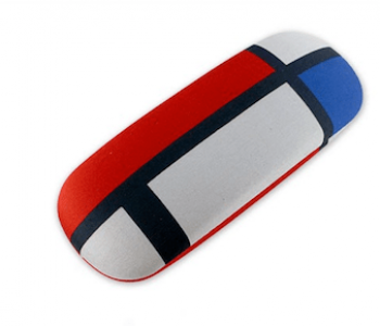 Brillenkoker in De Stijl van Mondriaan tot Dutch design: leuk cadeau