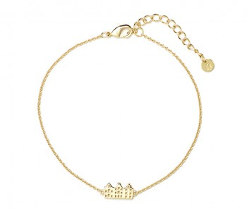 Grachtenpandjes Armband in 14 kt goud bij shop.holland.com
