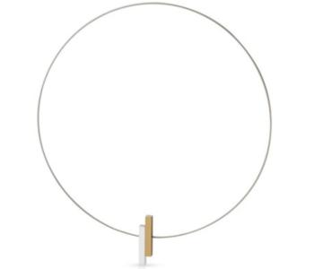 C116G goud met zilver collier of ketting van CLIC by Suzanne vind je bij shop.holland.com