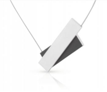 Dutch Design ketting van Clic by Suzanne; een ketting C183 zwart met magneetsluiting. Prachtig cadeau