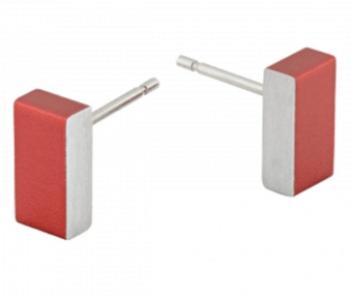 Clic O23 oorbellen in rood bestel je bij Holland Design & GIfts: de webshop voor Dutch Design cadeaus en souvenirs