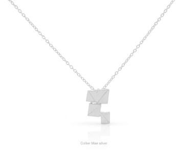 Clic Collier Mae zilver - een bijzonder cadeau voor een bijzonder persoon