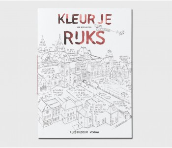 Kleurboek kleur je Rijks van het Rijksmuseum koop je bij shop.holland.com