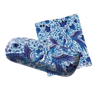 Delfts Blauw Brillenkoker van Royal Delft - met brillendoekje