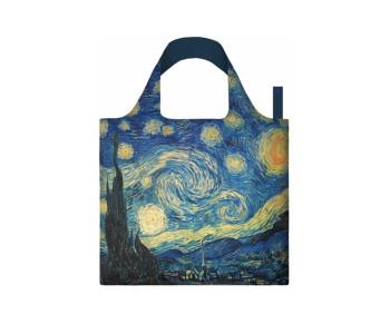 Loqi opvouwbaar tasje met Sterrennacht van Van Gogh bij Holland Design & Gifts