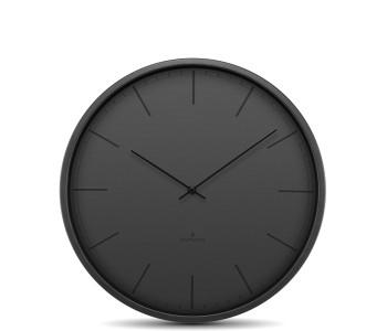 Huygens wandklok Tone zwart 25 cm doorsnede koop je bij shop.holland.com