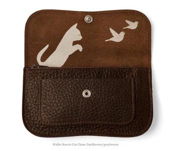 Cat Chase portemonnaie van Keecie: ideaal cadeau voor meiden die van katten houden
