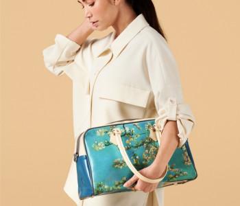 Handtas turquoise - leuk cadeau #fashionstatement