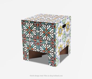 Dutch Design krukje Tiles bestel je natuurlijk bij shop.holland.com