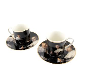 Espresso cups Marten & Oopjen - set of 2 Rijksmuseum