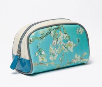 Vincent Van Gogh make-up tasje Amandelbloesem - leuk cadeautje