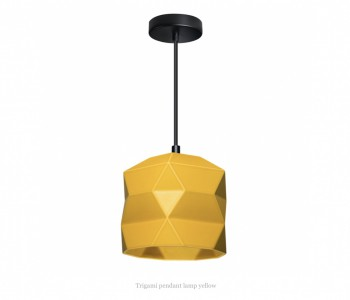 Trigami Hanglamp Geel van Sabine van der Ham