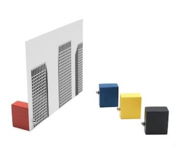 Fotolijstje en kaartenstandaard Basic Mondriaan van Duo Design