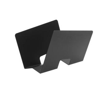 Gispen Contour lectuurbak van zwart staal door Robert Bronwasser