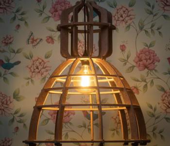 No. 19XL Industriële hanglampen uit PET-vilt van Olaf Weller