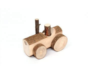 Kinderspeelgoed Happy Tractor Usual hout