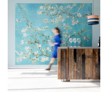 Van Gogh's Amandelbloesem wanddecoratie