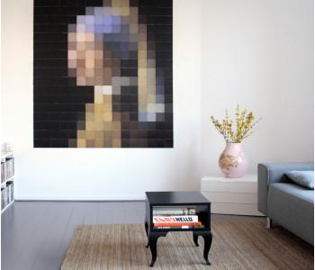 IXXI wanddecoratie 'Meisje met de parel' van Vermeer - leuk voor in de slaapkamer