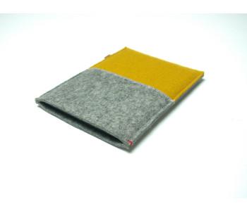 Westerman Bags e-reader hoesje van geel vilt