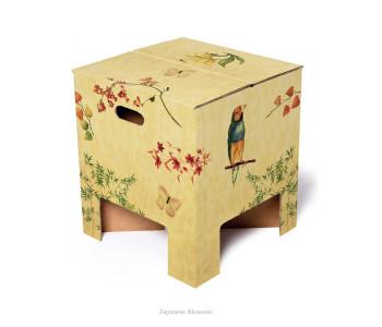 Dutch design krukje Japanese blossom van karton bij shop.holland.com