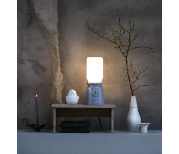 Meck lamp door Cor Unum Kranen/Gille met olielamp als inspiratie