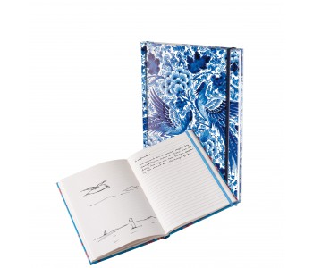A5 formaat notebook met Delfts Blauw decor van Royal Delft