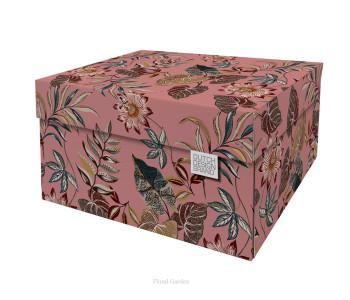 Dutch Design Opbergbox Floral Garden 40 x 31 x 21 cm