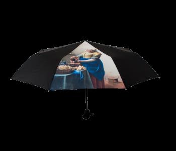 Paraplu met het Melkmeisje van Vermeer uit het Rijksmuseum