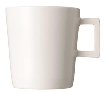 Koffiekop DIK kleur crème van Piet Hein Eek - mooi voor thuis en een super cadeau