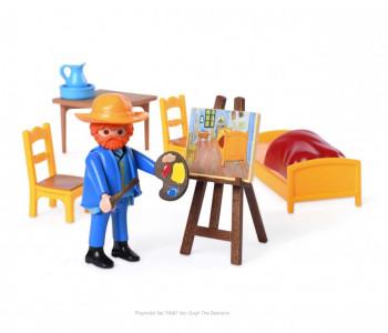 Playmobil 70687 Van Gogh de Slaapkamer