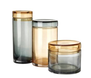 Pols Potten Caps & Jars Chic - Set van 3 Glazen Potten koop je net als andere Dutch design cadeaus bij shop.holland.com