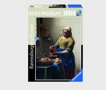 Cadeautip: puzzel Melkmeisje 1000 stukjes uit het Rijksmuseum bij shop.holland.com