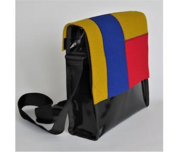 Helemaal in Mondriaan stijl met deze Remo tas