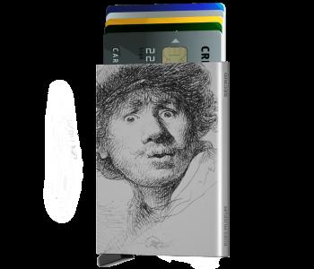 de Secrid cardprotector, de kaartenhouder met het unieke ontwerp waarbij de kaarten trapsgewijs naar boven schuiven