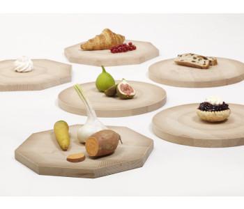 Shades of Plates houten borden in cirkel of achthoek van het Rijksmuseum